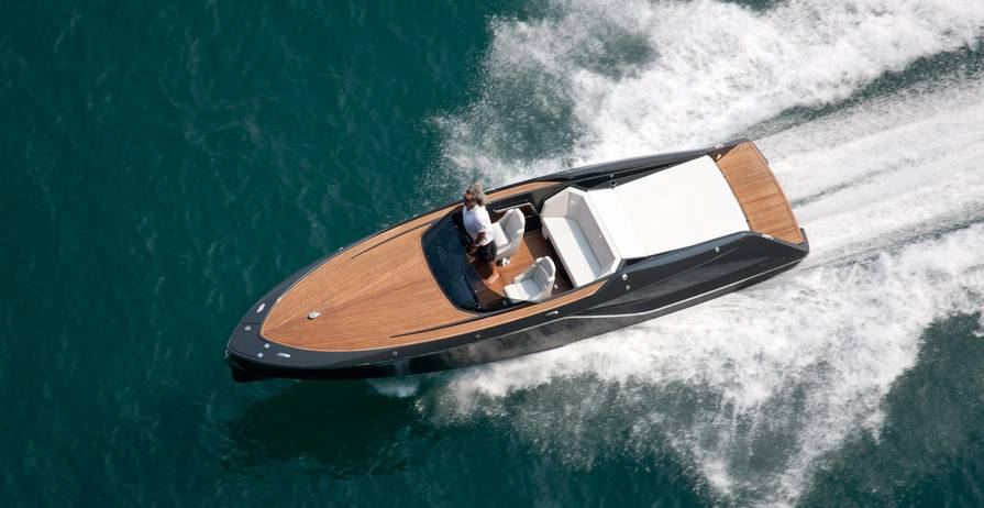 FRAUSCHER 858 Fantom Day Cruiser Top Cruising