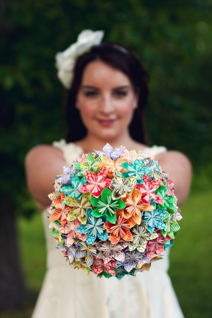 DIY Origami Bouquet