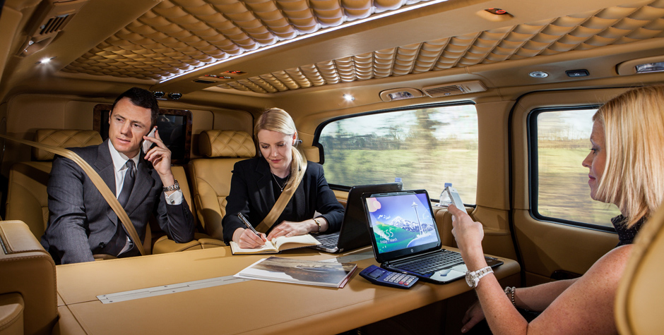 Mobile Office Mercedes Benz Viano